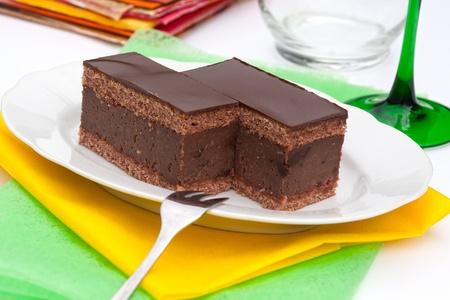 rum cake: Torta di cioccolato al rum