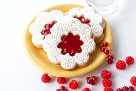 Marmalade cake (linzer)