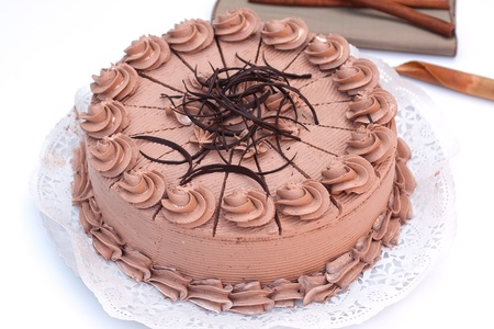 spice cake: Chocolate cake