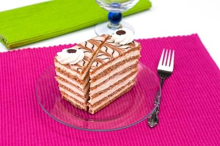 Hazelnut cake Stock Photo - 10315247