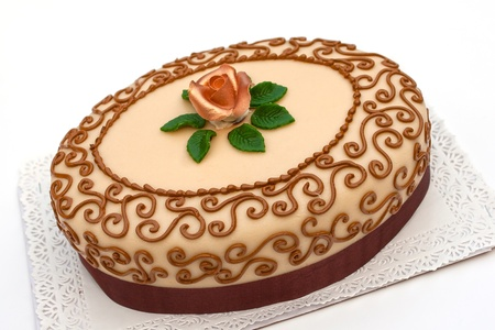 occasions: Hungarian chesnut cake for all occasions Stock Photo