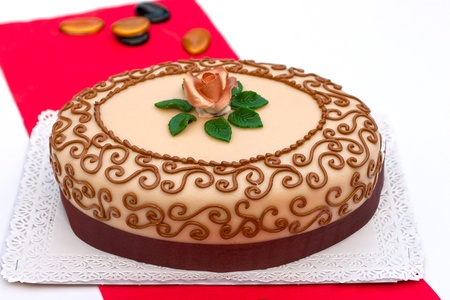 Hungarian chesnut cake for all occasions Stock fotó