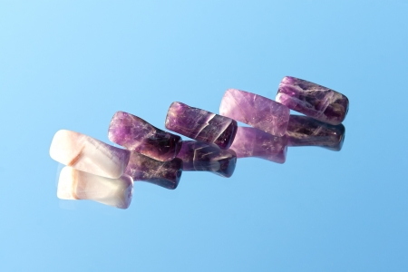 Amethyst beads  Stock Photo - 14493858