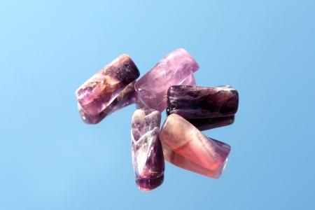 Amethyst beads  Stock Photo - 14493861
