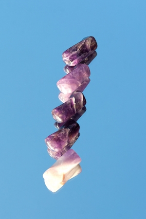 Amethyst beads  Stock Photo - 14493865