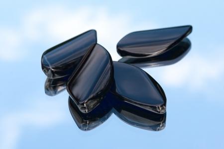 black onyx: Onyx diamond beads