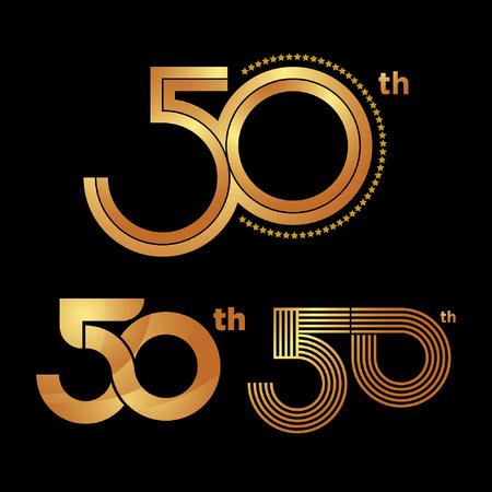50th years Anniversary logo
