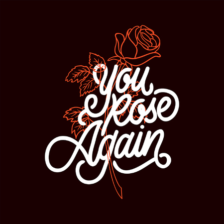 You Rose Again Çizim