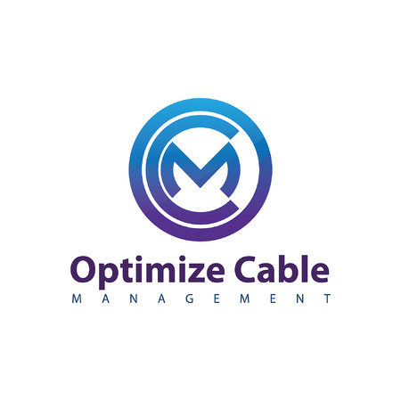 Optimize Cable Management Circle icon