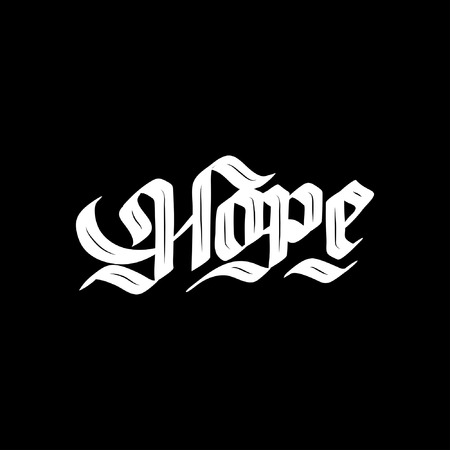 Hope calligraphy handlettering