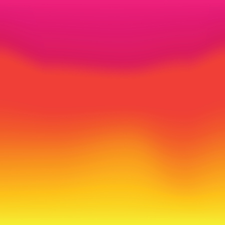 Colorful Gradient Yellow to Red abstract background