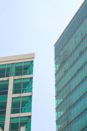 Two high building minimalism