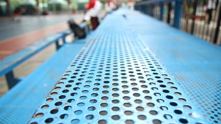 Attendance metal steel seats