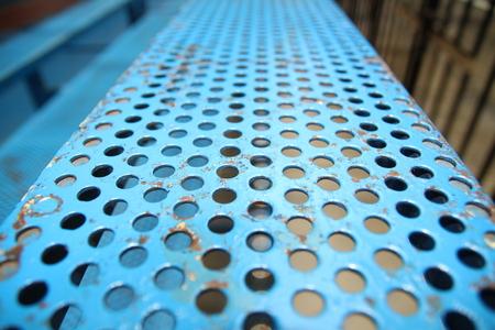 Metal Steel pattern Banco de Imagens