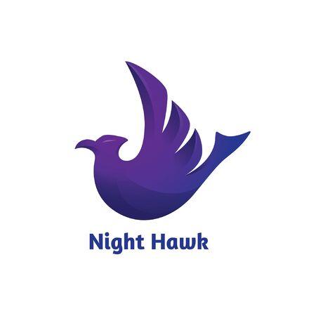Hawk logo Ilustração