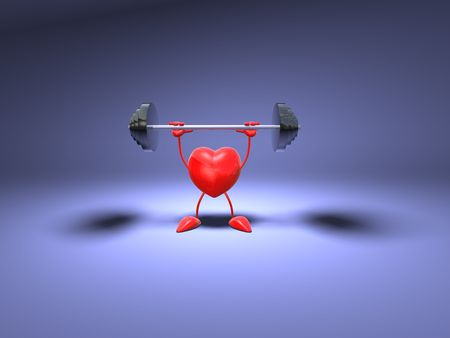 Bodybuilding heart