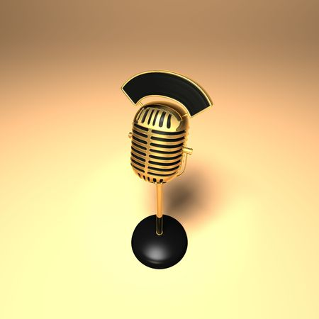 3D generated microphone