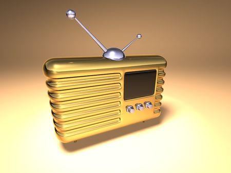 radio retr�: Retro radio