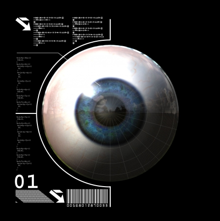 biometrics: Biometrics : 3D generated eye