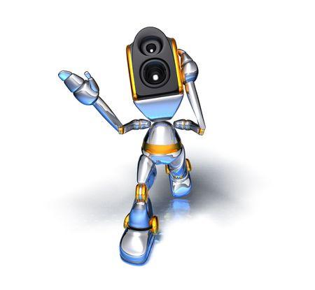 sono: Son syst�me de robot  Banque d'images