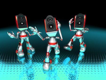 sono: Syst�me de son robot