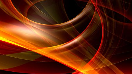 raytrace: Cool abstract background Stock Photo