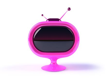 prime: Retro television Stock Photo