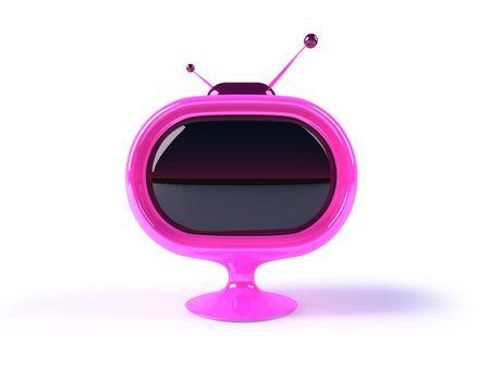 Retro television Standard-Bild