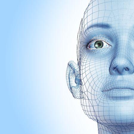 reconocimiento: 3D mujer