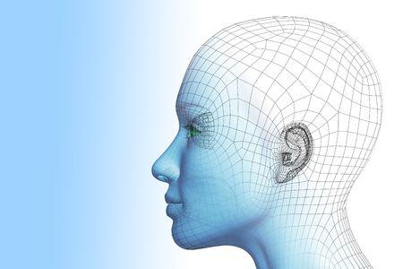 reconocimiento: Mujer 3D