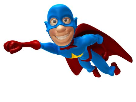 crime fighter: Superhero Stock Photo