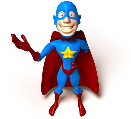 Superhero Reklamní fotografie