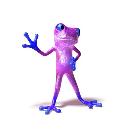 Fun frog Stock Photo - 3972983