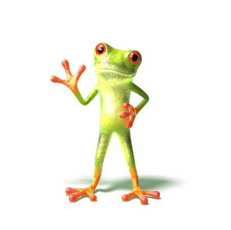 Fun Frosch Standard-Bild - 3972975