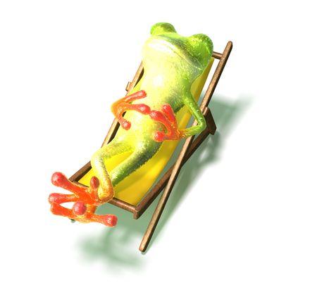 Frog 写真素材