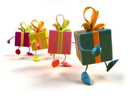 Geschenke Standard-Bild - 3973033