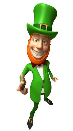 Irish Leprechaun Stock Photo - 3972796