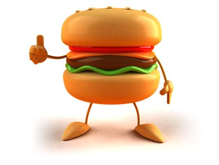 mayonnaise: Hamburgers Stock Photo