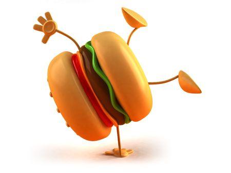 Hamburger Standard-Bild - 3329274