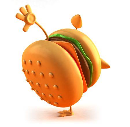 Hamburgers Stockfoto