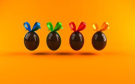 Easter eggs Фото со стока - 3332957
