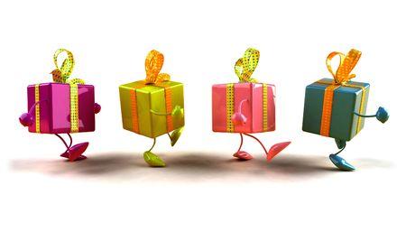 Fun Geschenke  Standard-Bild - 3333014