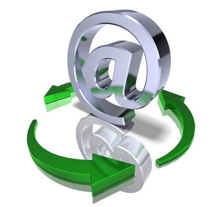 Recycle mail Stock Photo - 3321582