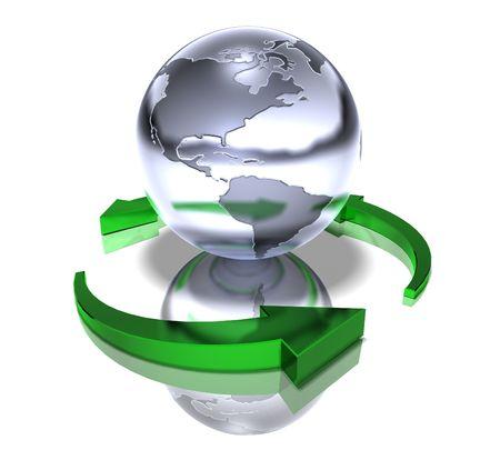 World recycle photo