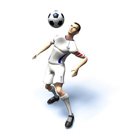 Football player Stock Photo - 3321789