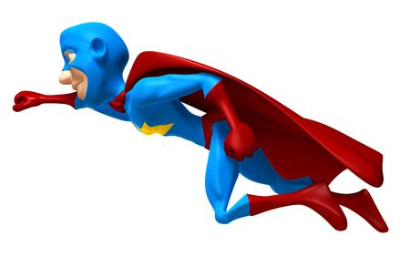 Superhero Stockfoto