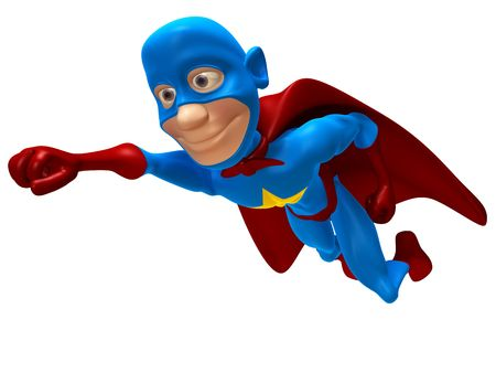 Superhero Stock Photo - 3321762