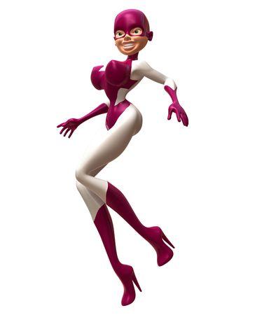 Superwoman Stock Photo - 3321533
