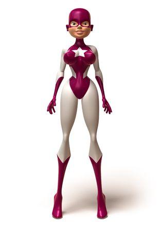 superwoman: Superwoman Foto de archivo