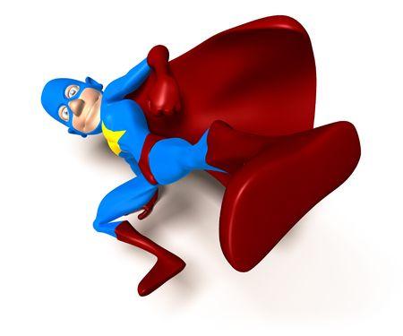superpower: Superhero Stock Photo